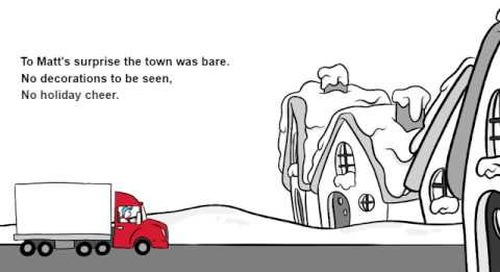 How the Trucker Saved Christmas