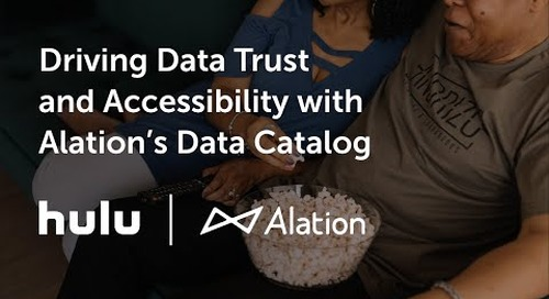 Hulu: Driving Data Trust and Accessibility with Alation's Data Catalog