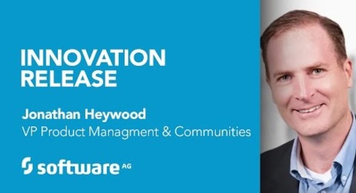 All about Software AG's Innovation Release 2017