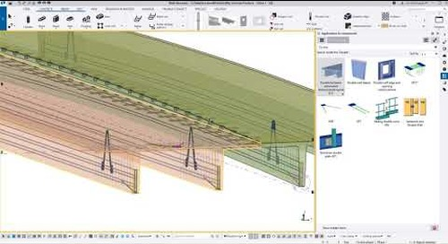 Tekla Structures – How to Camber, Warp, and Place Double Tees for Drainage