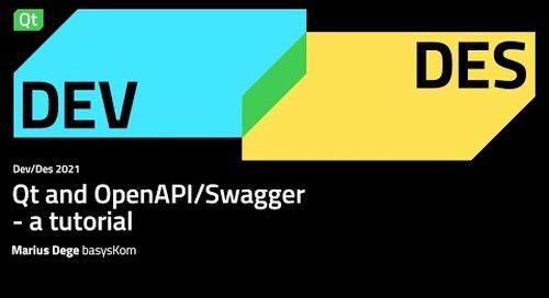 Qt and OpenAPI/Swagger - a tutorial – Dev/Des 2021