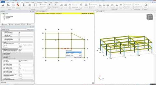 Composite Design in Tekla Structural Designer