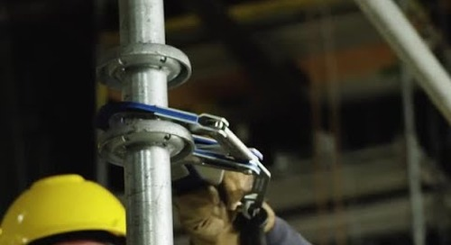 More anchorage options for working at heights. Introducing the 3M™ DBI-SALA® Comfort Grip Connector.
