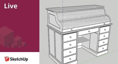 SketchUp Live Modeling Furniture