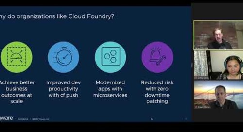 Tanzu.TV - The Future of Cloud Foundry and Kubernetes with Paul Warren, Jared Ruckle, and Dieu Cao
