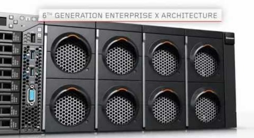 Lenovo System x3850 X6  Server - Product Demo