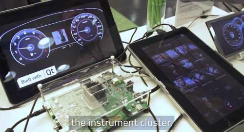 Qt Digital Automotive Cockpit Demo