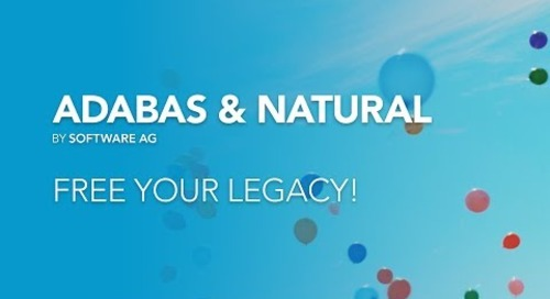 Adabas and Natural: Free Your Legacy!