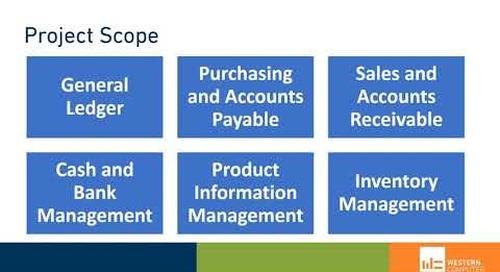 Dynamics 365 Finance & Supply Chain Management: 10-Week Implementation | Western Computer