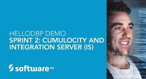 Hello DBP – Sprint 2 – Cumulocity & Integration Server