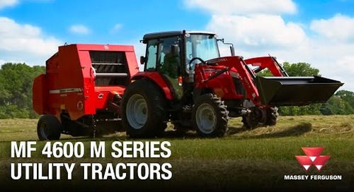 4600M Series Utility Tractors from Massey Ferguson