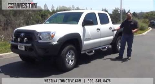 Installation of GenX Steps on Toyota Tacoma PN# 20-2770