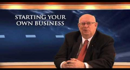 It's Your Business -  Starting Your Business