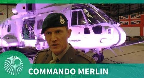 Royal Navy receives first Commando Merlin