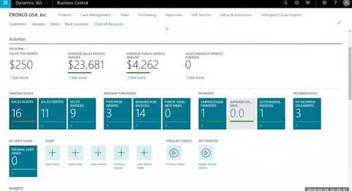 Quote to Cash Process In Dynamics 365 Business Central