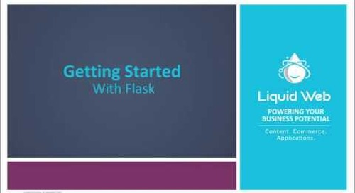 Getting Started With Flask