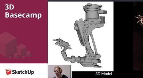 Concept Art – Chris Rosewarne | 3D Basecamp 2018