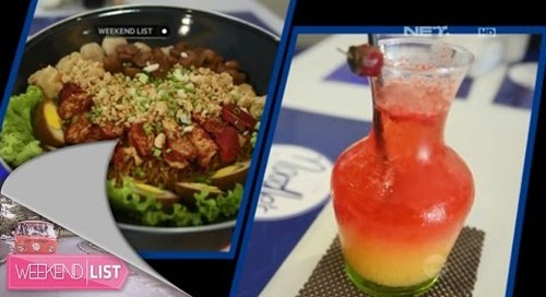 Weekend List - The Noodle's Airlines Eatery, Surabaya