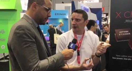 embedded world 2017: FTDI Chip makes USB-to-Serial Conversion Count in Mobile Device Design