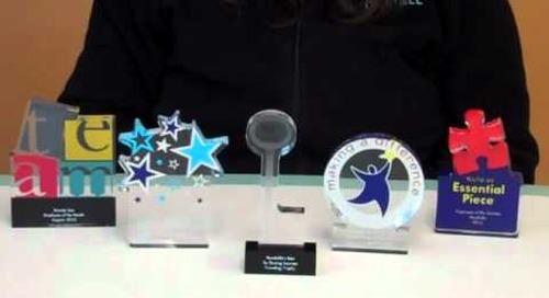 Desktop Acrylic Trophies