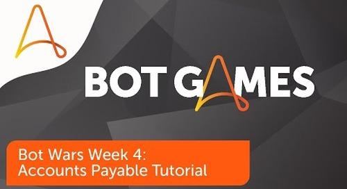 Bot Wars – Accounts Payable Challenge Solution Tutorial