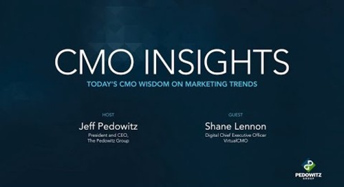 CMO Insights: Shane Lennon, VirtualCMO
