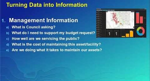 Maintenance and asset management for small to mid-sized municipalities