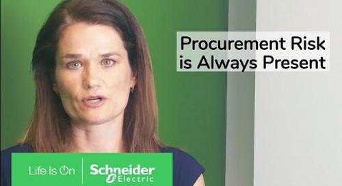 Procurement Risk, Always Present   Schneider Electric