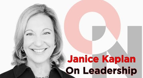Genius Needs to be Nurtured | Janice Kaplan | FranklinCovey clip