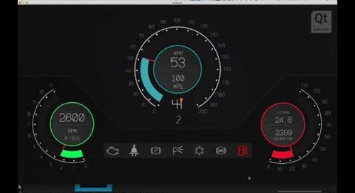 Learn to use Qt Design Studio by Building an Instrument Cluster for Your Car HMI (Part 5)