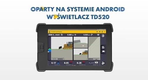 System Sterowania Maszyn Earthworks: UI/UX - Polish