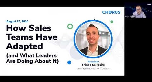 How Sales Teams Have Adapted (and What Leaders Are Doing About It)