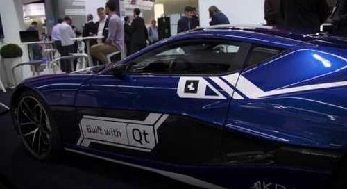 The World's Fastest Electric Supercar, Qt IVI & Cluster in Rimac's Concept One
