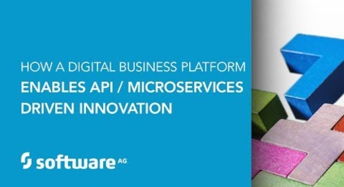 How a Digital Business Platform Enables API / Microservices Driven Innovation