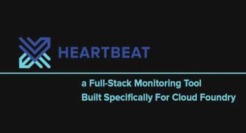 Heartbeat.  Cloud Foundry Monitoring Tool