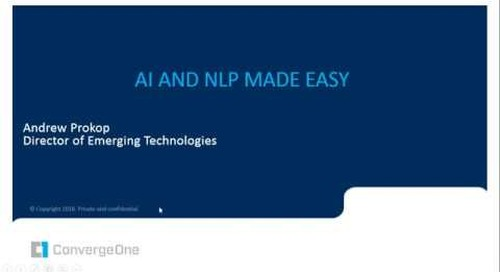 Artificial Intelligence (AI) and Natural Language Processing (NLP)  Made Easy