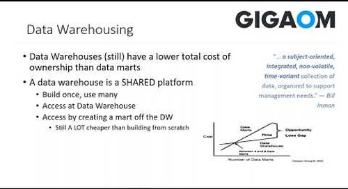 Webinar: Strategies and Options to Consider When Modernizing Data Architecture