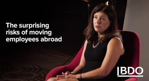 The Surprising Risks of Moving Employees Abroad | BDO Canada