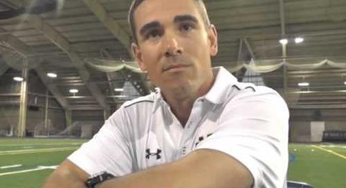 Notre Dame QB Coach Matt LaFleur - Media Day