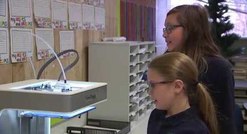 VariQuest CREATE Trifecta™ 800 3D Printer & STEM:IT Discovery Charter Video Testimonial