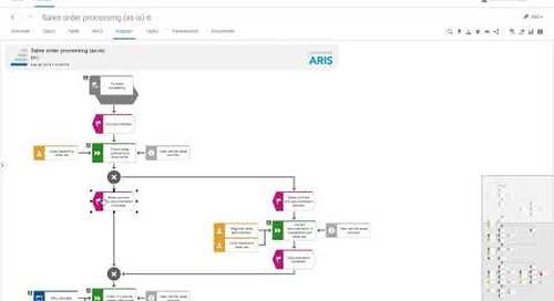 ARIS 10 SR8 Teaser Video: Intelligent auto-scrolling in Diagrams