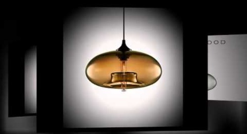 Aurora Modern Glass Pendant Lamp by Niche Modern