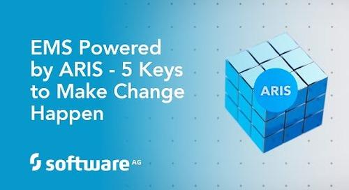 Enterprise Management System powered by ARIS - 5 Keys to Make Change Happen