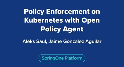 Policy Enforcement on Kubernetes with Open Policy Agent