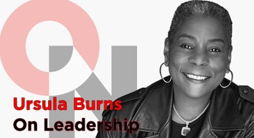 Be Comfortable With Not Fitting In   Ursula Burns   FranklinCovey clip