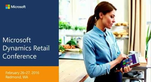Retail Conference 2016 Pricing and Promotions Deep Dive DRCP2