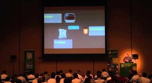 2014 Qt Developer Day Japan「QtはあなたのInternet of Thingsにつながるデバイスの戦略を後押しします」