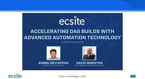 Webinar: Accelerating DAS Builds with Advanced Automation Technology
