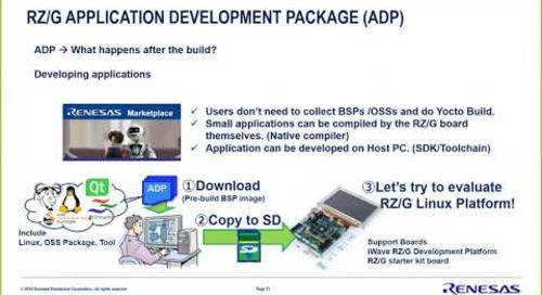 Qt 5.10 for Renesas RZ/G: More value for your HMI applications {On-demand webinar}