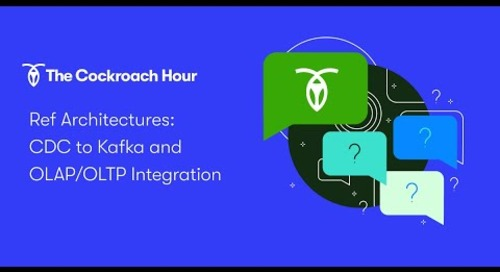 [ep 7] Change Data Capture, Kafka, and Data Integration Architectures